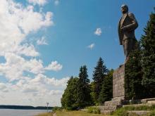 Памятник Ленину на Канале имени Москвы